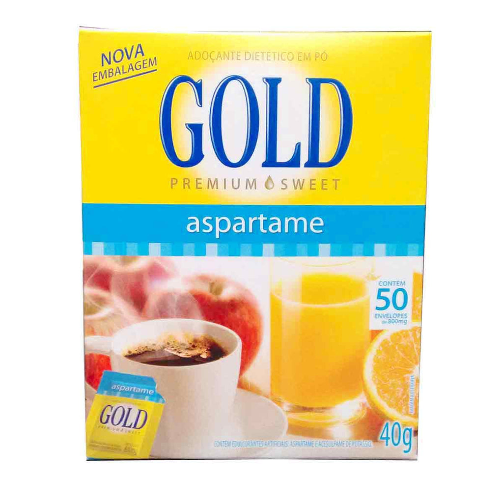 GOLD Aspartame 50 envelopes