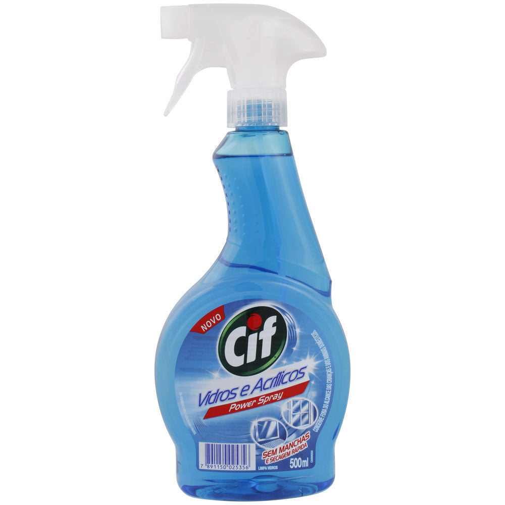Cif Limpa Vidros Power Spray 500ml
