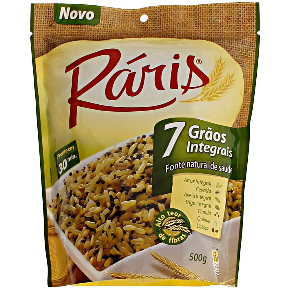 Ráris Arroz 7 Grãos Integral 500g