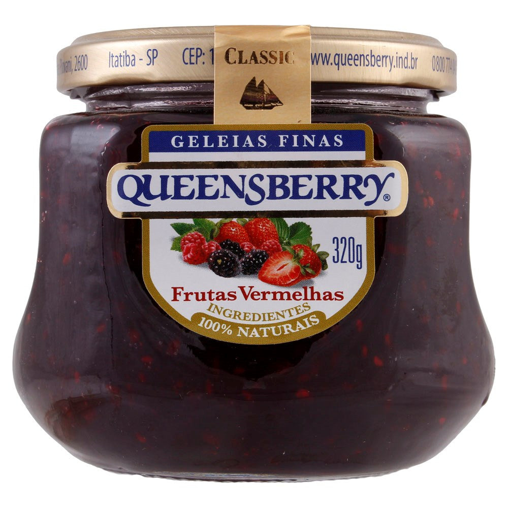 Queensberry Frutas Vermelhas 320g