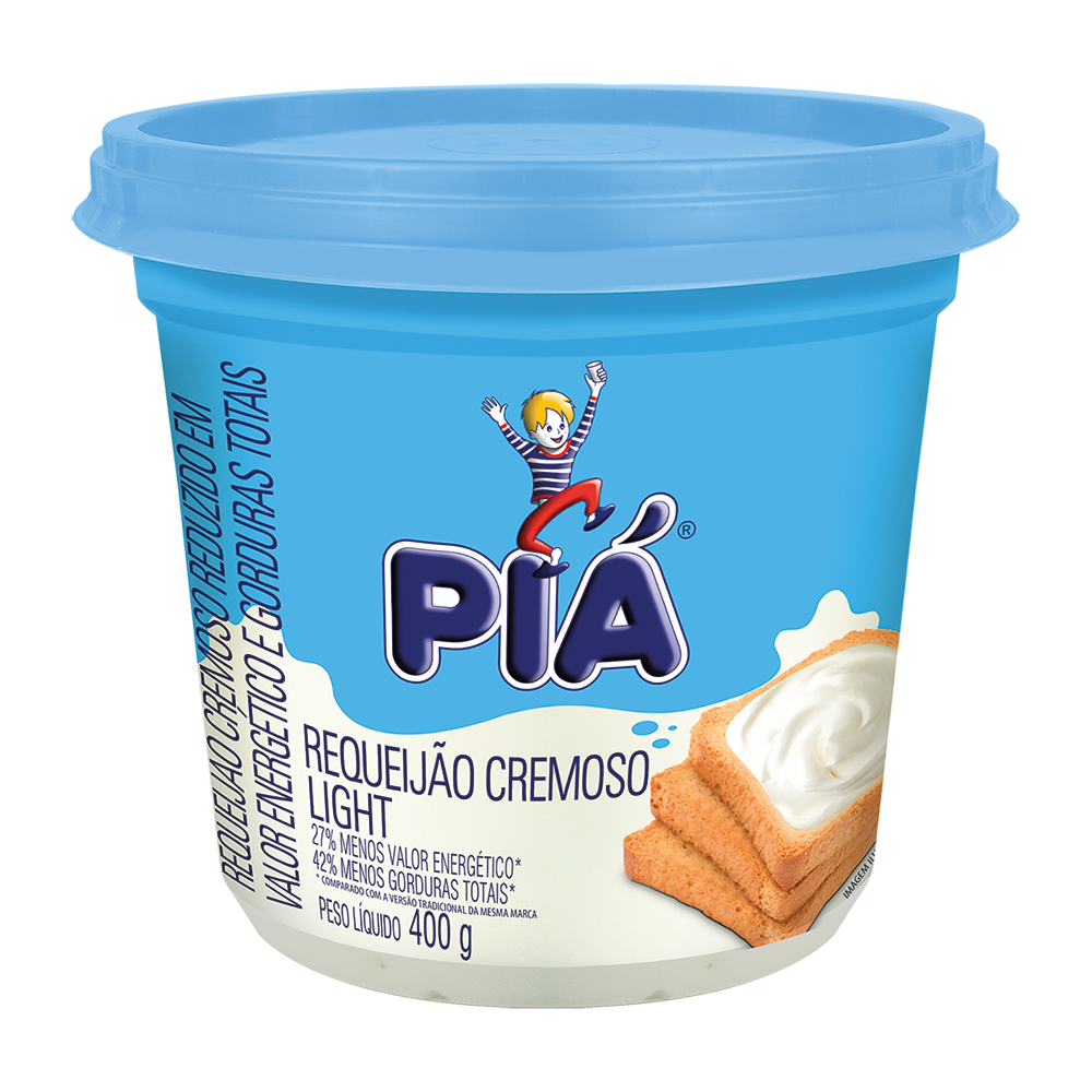 Piá Requeijão Light 400g
