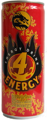 4 Energy Drink 250ml