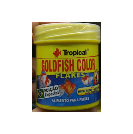 Supervit Tropical Alimentos Para Peixes Goldfish Color Flakes 12g