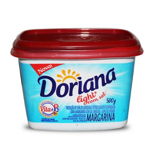 Doriana Com Sal Light 500g