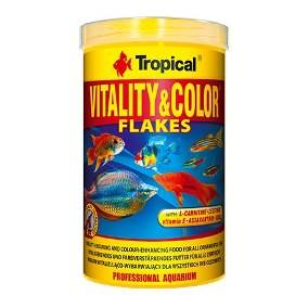 Tropical Alimentos Para Peixes Vitality & Color Flakes 20g