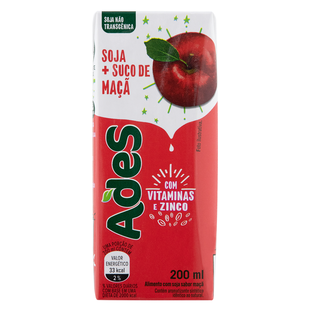 Ades Maçã 200mL