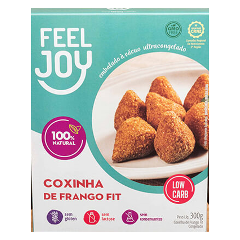 Feel Joy Coxinha de Frango Fit 300g