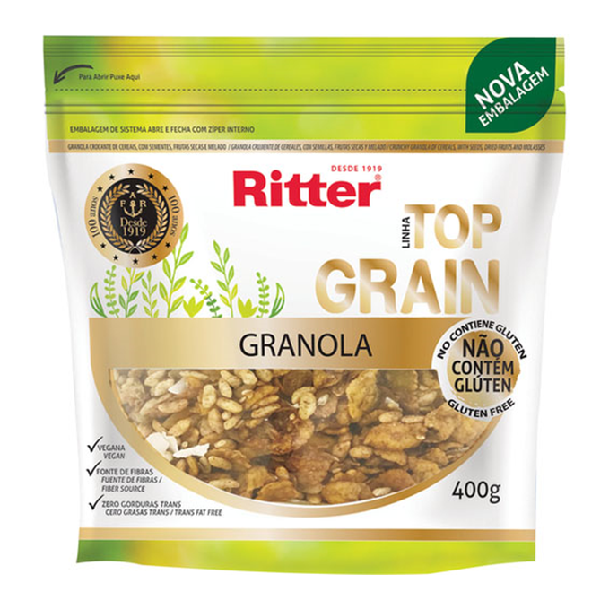 Ritter Granola Top Grain 400g