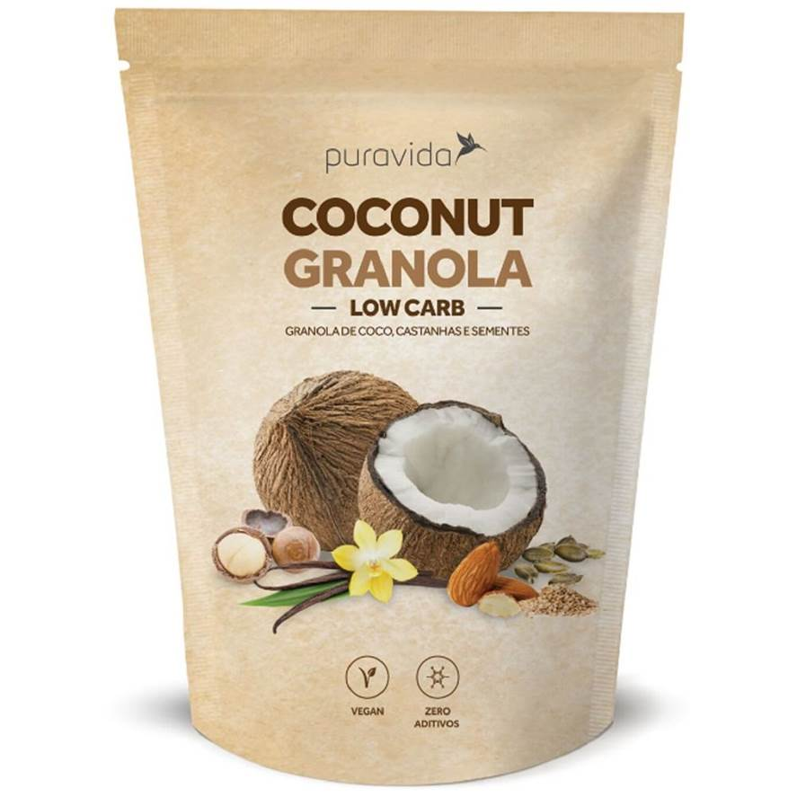 Puravida Granola Coconut Low Carb 250g