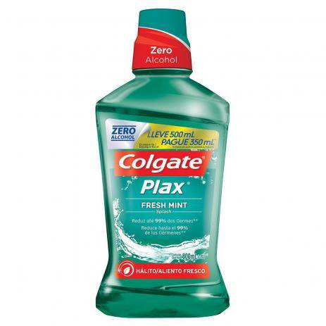 Colgate Antisséptico Bucal Plax Fresh Mint Zero Álcool 500ml