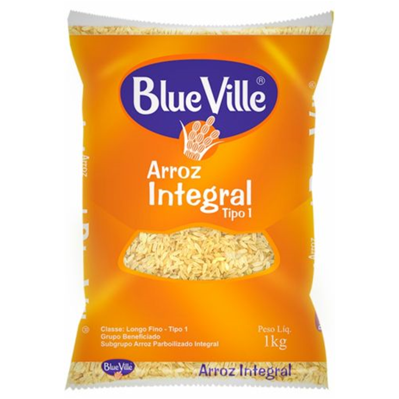 Blue Ville Arroz Integral 1kg