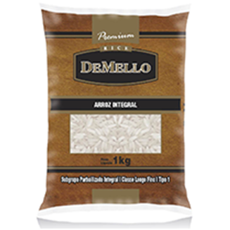 DeMello Arroz Integral 1k