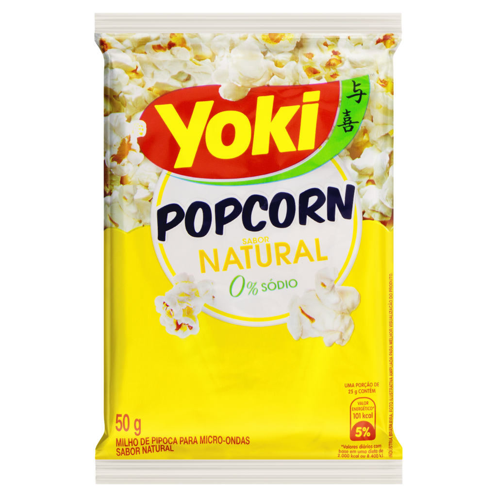 Yoki Pop Corn Natural 50g