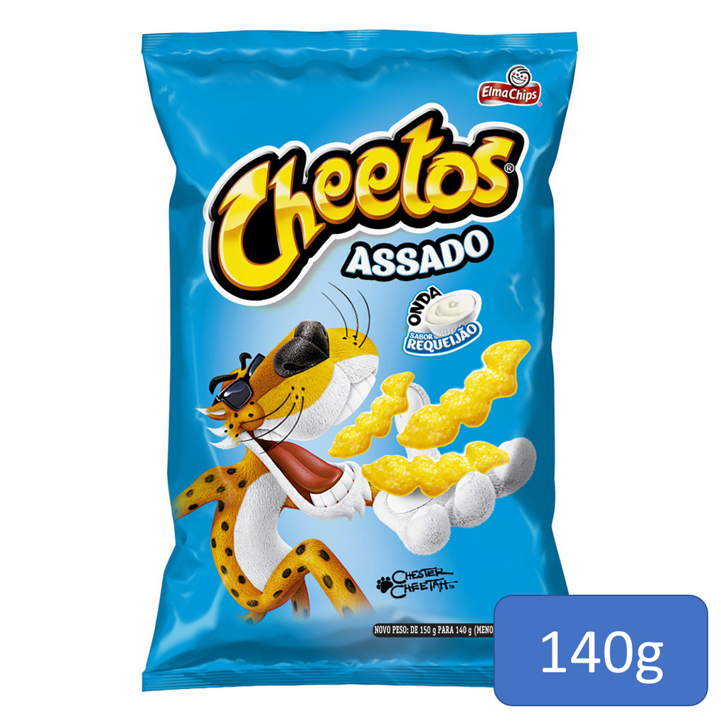 Cheetos Onda Requeijão 140g