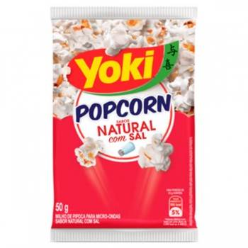 Yoki Pop Corn Natural com Sal 50g