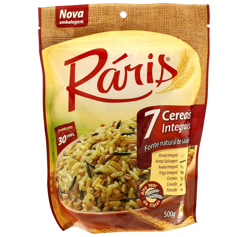 Ráris 7 Cereais Integrais 500g