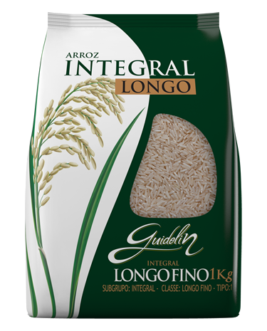 Guidolin Arroz Integral Longo 1kg