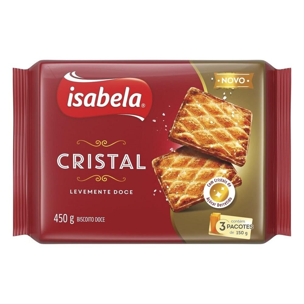 Isabela Biscoito Cristal 450g