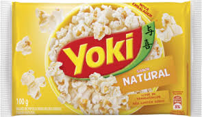 Yoki Pop Corn Natural 100g