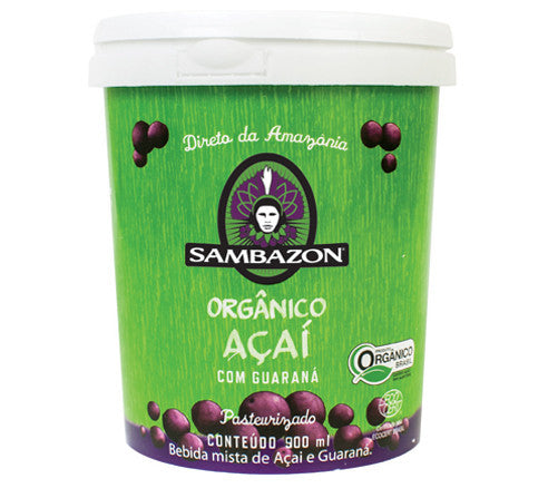 Sambazon Açaí com Guaraná 900mL