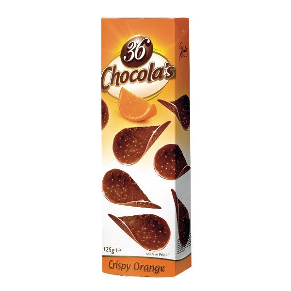 36 Chocola's Crispy Orange 125
