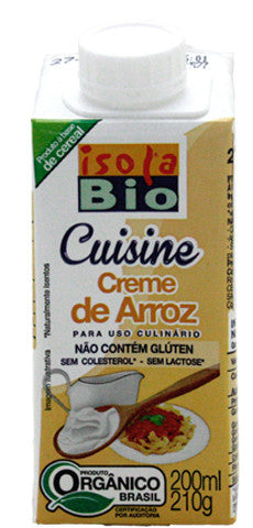 Isola Bio Creme de Arroz 200ml