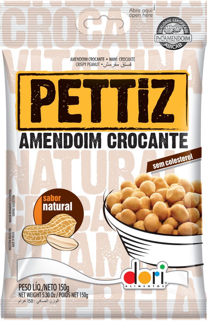 Pettiz Amendoim Crocante Natural 150g