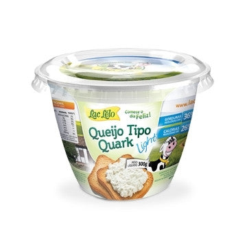 Lac Lélo Queijo Quark Light 300g
