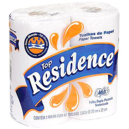 Papel Toalha Top Residence 2 rolos