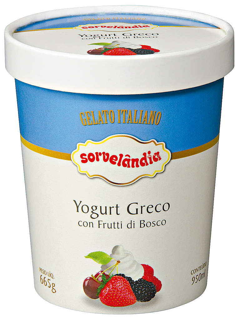 Sorvelândia Yogurt Greco 950ml