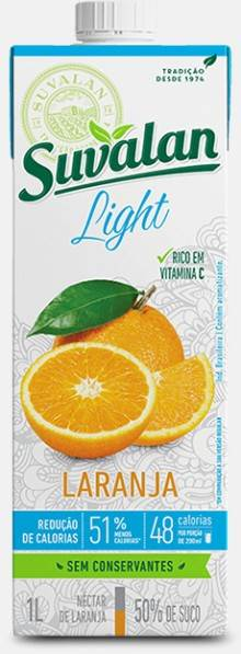 Suvalan Nectar Light Laranja 1L