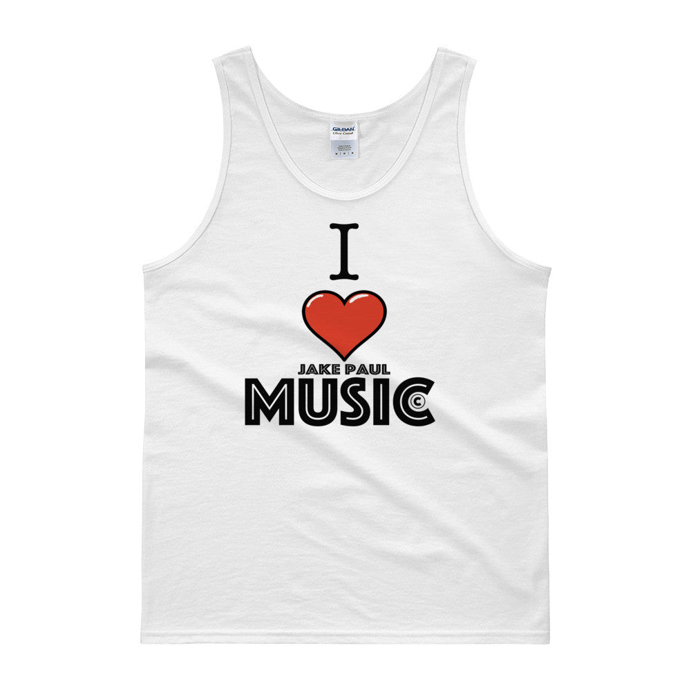 I Love Jake Paul Music Tank Top
