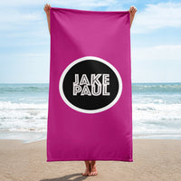 Jake Paul Pink Beach Towel