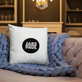 JAKE PAUL (2019 circle logo) Premium Pillow