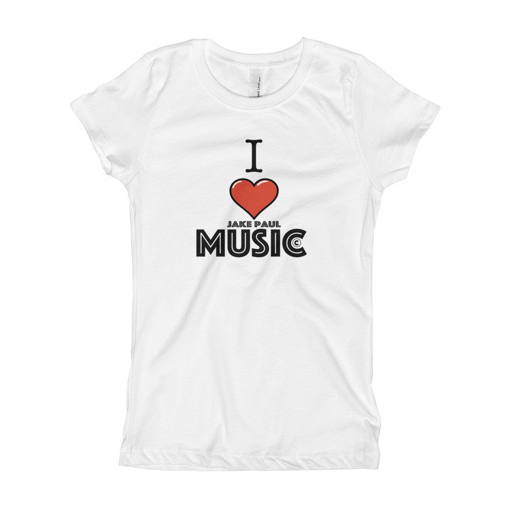 Jake Paul Music Girl's T-Shirt