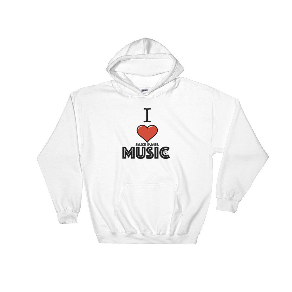 I Love Jake Paul Music Hooded Sweatshirt - by Jake Paul