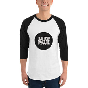 Jake Paul Circular Logo 3/4 sleeve raglan shirt