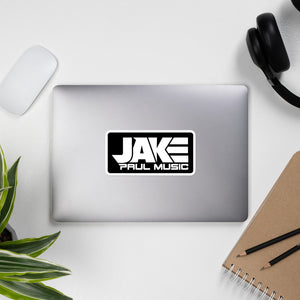 Black Jake Paul Music Bubble-free Stickers