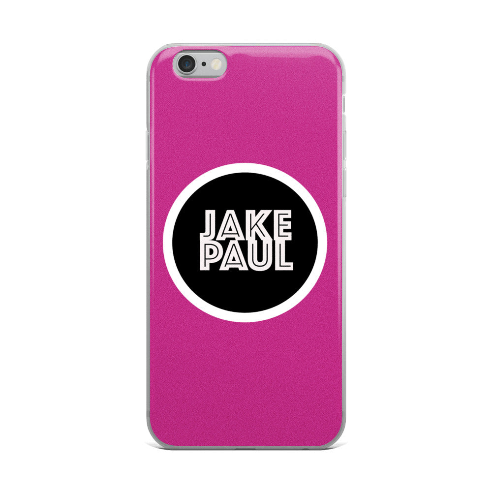 Jake Paul Pink iPhone Case