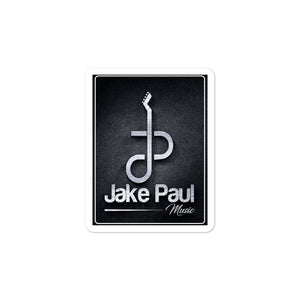 Jake Paul Guitar Logo Bubble-free Stickers