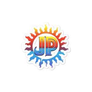 JP Sun/Beach Bubble-free Stickers
