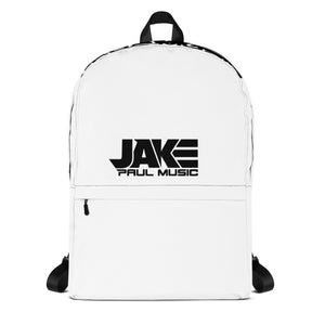 Jake Paul Music Backpack - black font
