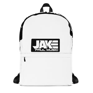 Jake Paul Music Backpack - white font