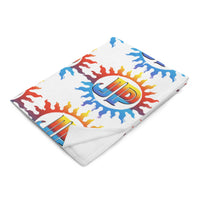 Jake Paul Sun Logo Blanket