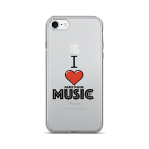 I Love Jake Paul Music iPhone 7/7 Plus Case