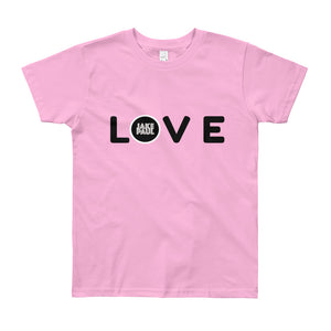 JAKE PAUL LOVE Youth Short Sleeve T-Shirt