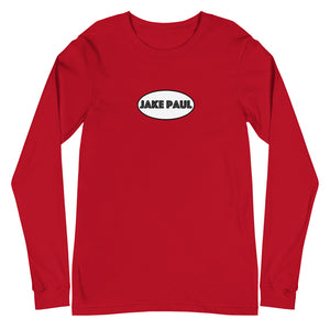 Jake Paul Oval Logo Unisex Long Sleeve Tee
