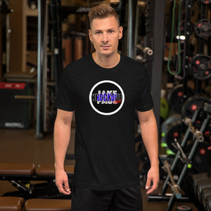 Jake Paul KNOCKOUT KING Logo Short-Sleeve Unisex T-Shirt
