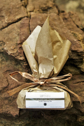 African Black Soap - cleansing and shampoo bar
