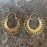 Tribal Fringe Hoops
